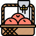 tangerine, fruit, prosperity, celebration, festive