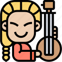 banjo, music, instrument, traditional, string