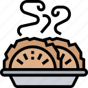 dumpling, food, cuisine, traditional, oriental