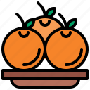 diet, food, fruit, orange, vegetarian icon
