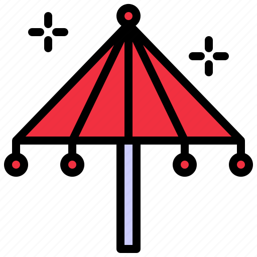 asia, china, chinese, cultures, umbrella icon