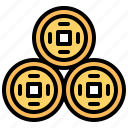 cash, currency, money, pi, yuan icon