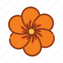 chinese, flower, nature, new, year icon