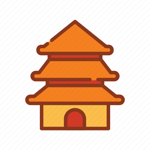 Asian, china, chinese, new, temple, year icon - Download on Iconfinder
