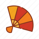 fan, weather, wind icon