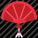 art, asian, chinese, fan, wind icon