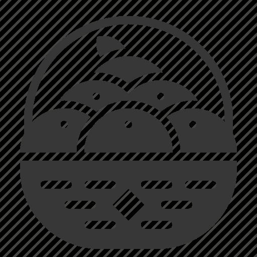 Basket, china, chinese, cny, new year, orange, orange basket icon - Download on Iconfinder