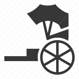 china, chinese, cny, new year, rickshaw, transport icon