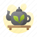 chinesse, hot, new, pot, tea, year icon