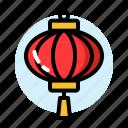 china, lampion, new, red, year, chinese