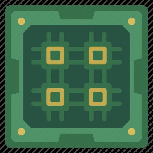 chip, chipset, core, cpu, processor icon