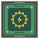 border, box, chip, chipset, cpu, processor icon