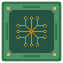 chip, chipset, cpu, processor, scheme icon