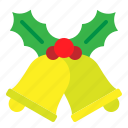 alarm, bell, christmas, ring, xmas icon