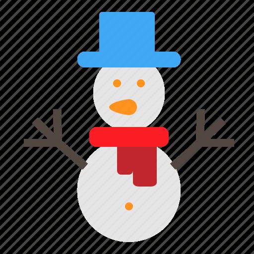 christmas, man, snow, winter, xmas icon
