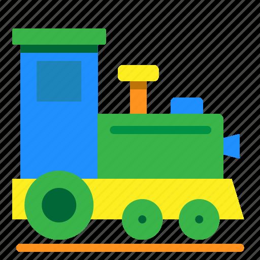 baby, railroad, toy, train icon