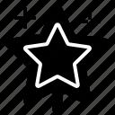 christmas, night, sky, star, stars icon