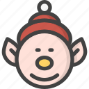 child, elf, help, kid, santa, xmas icon