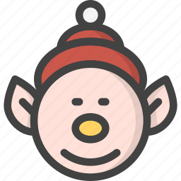 elf, help, kid, santa icon