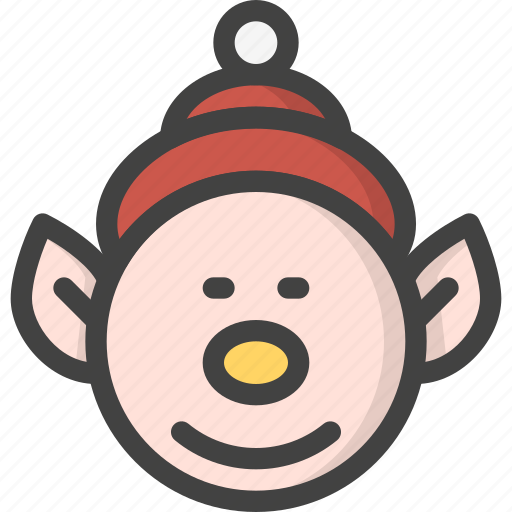 child, elf, help, kid, santa, xmas icon