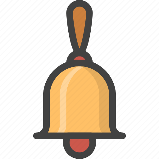 bell, christmas, instrument, music, sound icon