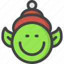 chistmas, christmas, claus, elf, help, santa icon