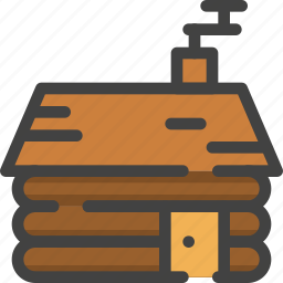 house, playground, winter, wooden icon