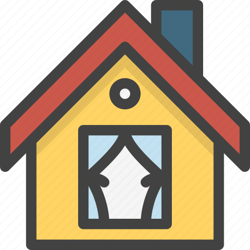 building, ground, home, house, play, property, small icon