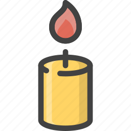 ambient, candle, hot, light, love, romantic, valentines icon