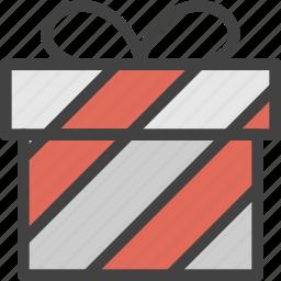 box, gift, happy, surprise icon