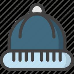 cold, hat, head, wear, winter icon