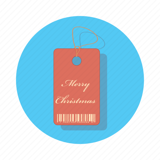 christmas, holiday, label, price, tag icon