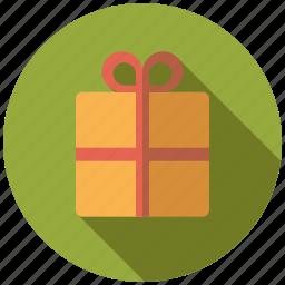 bow, christmas, gift, holidays, present, season, winter icon