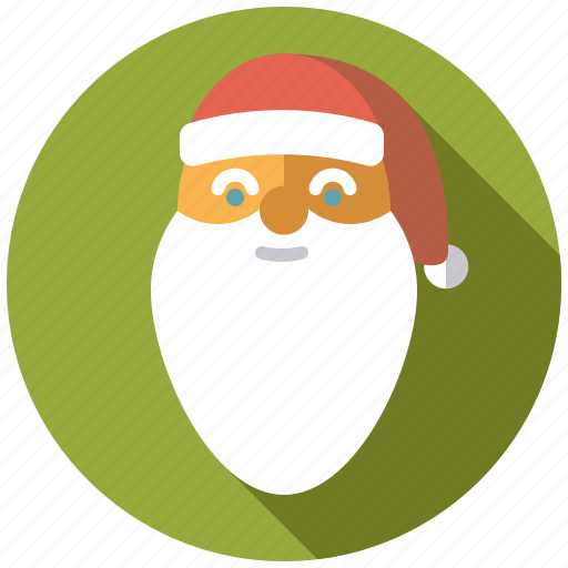 christmas, face, holidays, man, santa claus, season, winter icon