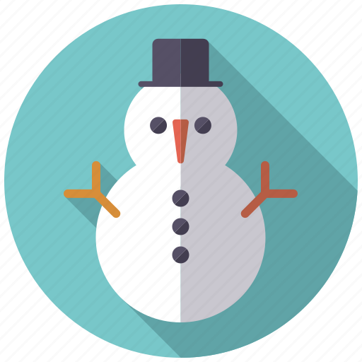 christmas, holidays, season, snow, snowman, winter icon