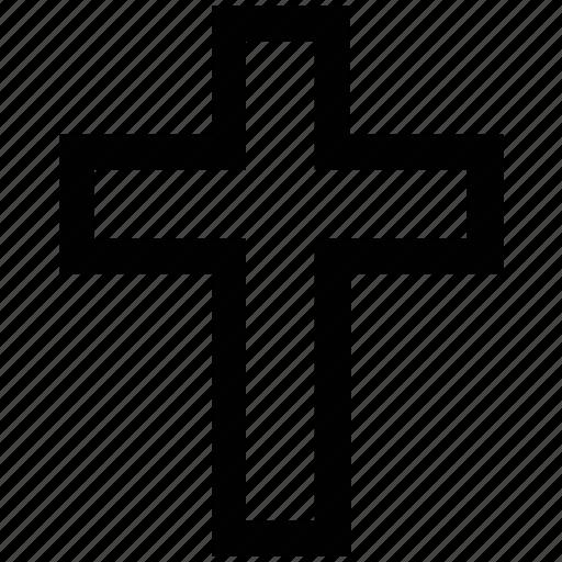 .svg, cemetery, cross, death, grave, halloween, tomb icon