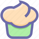 .svg, cake, cookie, cup, cupcake, food, sweet icon