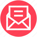 .svg, email, envelope, letter, message, open, sheet icon