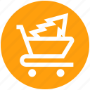 .svg, cart, christmas shopping, christmas tree, tree, tree in cart, tree shopping icon