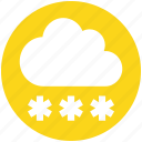 .svg, christman, cloud, decoration, snow, snowing, winter icon