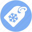 .svg, flake, price, shopping, snow, tag, winter icon