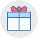 birthday, birthday gift, christmas, gift, gift box, present icon