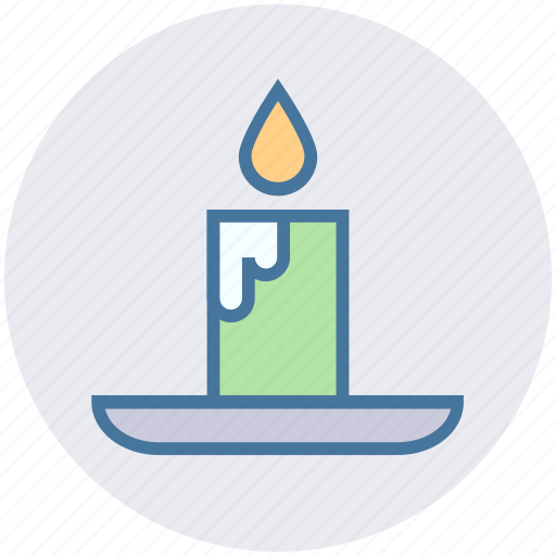 Candle, decoration, fire, halloween, light, wax icon - Download on Iconfinder