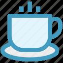 coffee, cup, hot, hot coffee, hot tea, tea icon