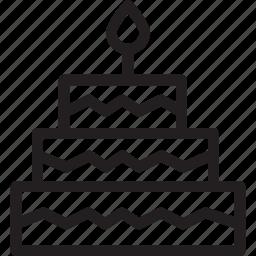 cake, christmas, festival, holiday icon