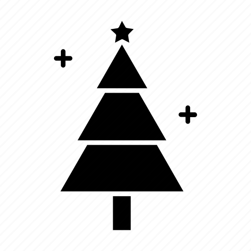 Christmas Tree Facebook Icon: Christmas, Decoration, Holiday, Pine, Spruce, Tree, Xmas Icon