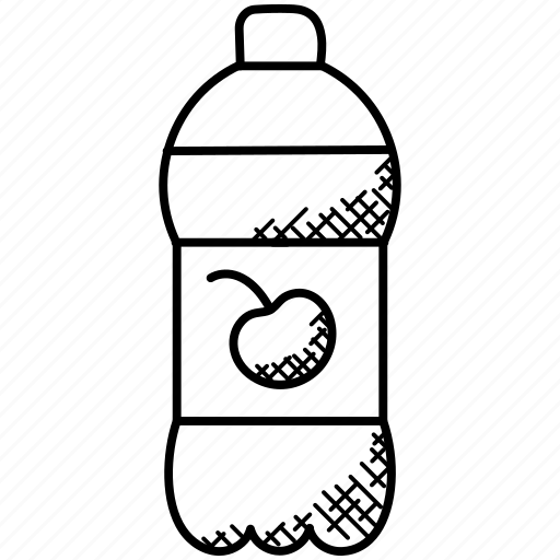 bottle of juice, cherry drink, cherry juice, fruit juice, juice icon