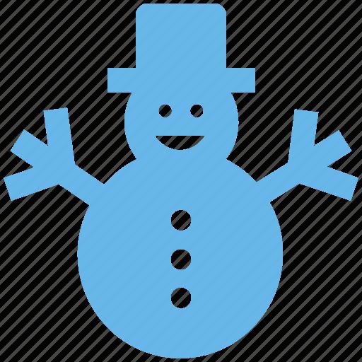.svg, christmas, man, snow, snowman, winter icon