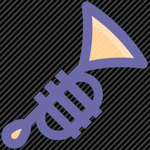 .svg, band, brass, instruments, music, trombone, trumpet icon