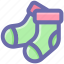 .svg, christmas, christmas stocking, holiday, sock, socks icon